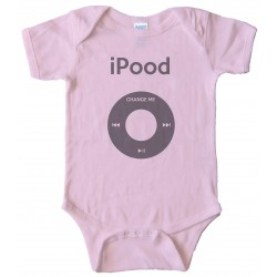 Ipood - Change Me - Ipod Baby Bodysuit
