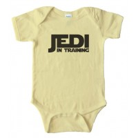 Jedi In Training Baby Bodysuit