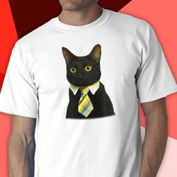 Business Cat Tee Shirt