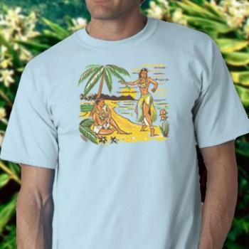 Hula Girl Tee Shirt