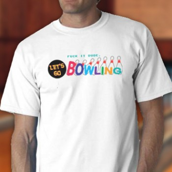Let'S Go Bowling Tee Shirt