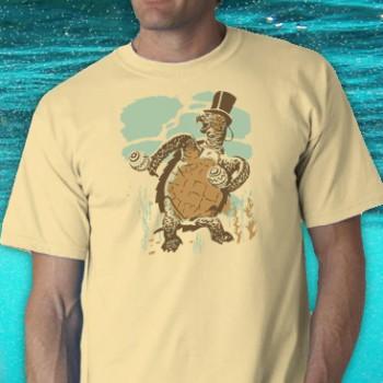 Sophisticated Tortoise Tee Shirt