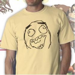 Excited Rage Face Tee Shirt