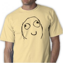 Happy Face Deal Tee Shirt
