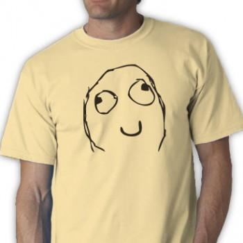 Happy Face Deal Tee Shirt