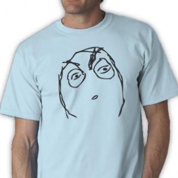 Huh Rage Tee Shirt