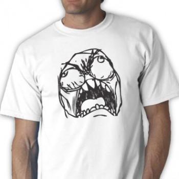 Rage Face Tee Shirt