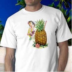 Hula Girl 2 Tee Shirt