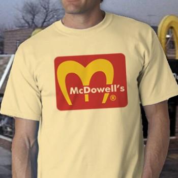 Mcdowell'S Tee Shirt