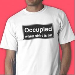 Occupied Tee Shirt
