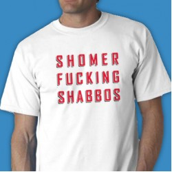 Shomer F Shabbos Tee Shirt