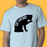 Cat Person Tee Shirt