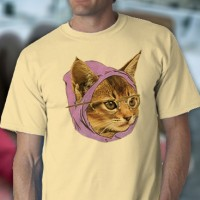 Hipster Kitty Tee Shirt