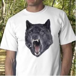 Insanity Wolf Tee Shirt