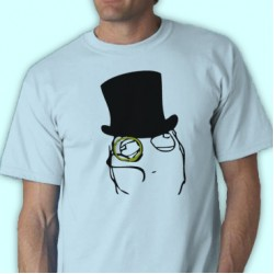 Monocle Guy Tee Shirt