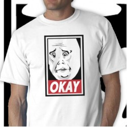 Obey-Okay Tee Shirt