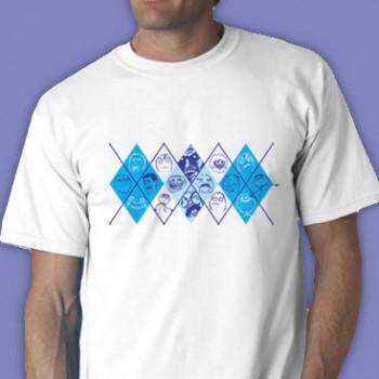 Rage-Gyle Tee Shirt