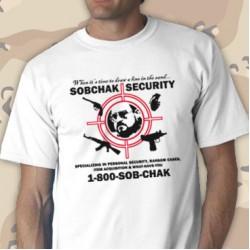 Sobchaks Security Tee Shirt