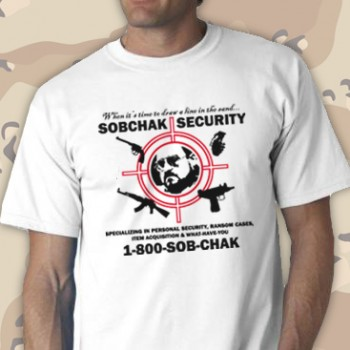 Sobchaks Security Tee Shirt