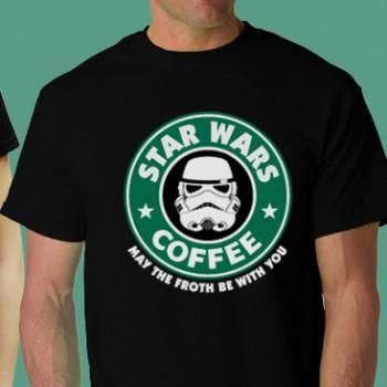 Star Wars Coffee Tee Shirt