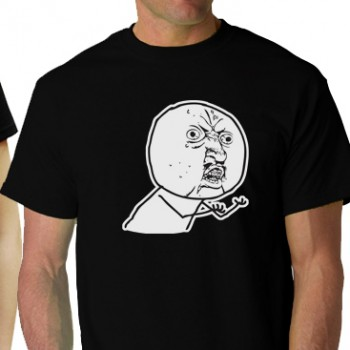 Yuno On Black Tee Shirt