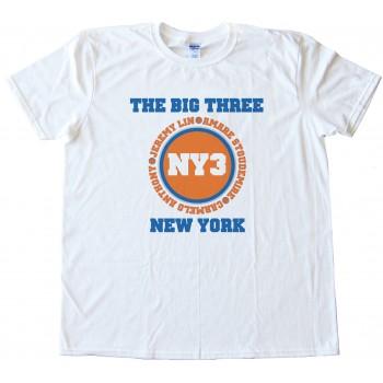 The Big Three New York Knicks Tee Shirt