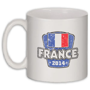 France 2014 World Cup Coffee Mug