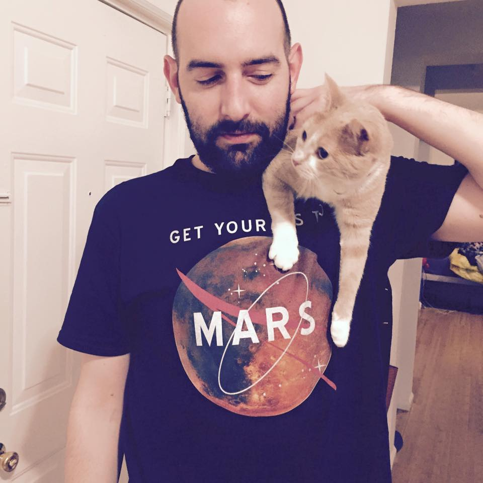 Get Your Ass To Mars Tee - Cat Not Included!