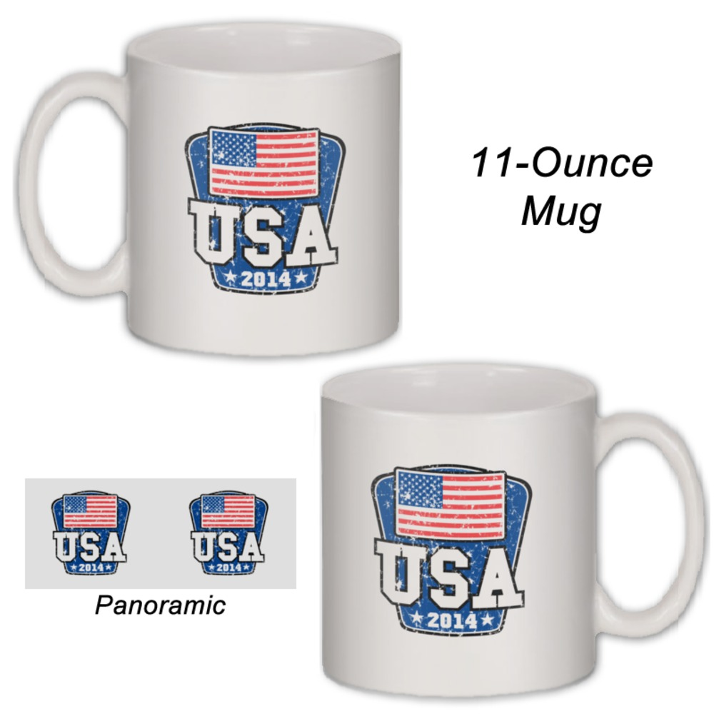 Usa 2014 World Cup Coffee Mug