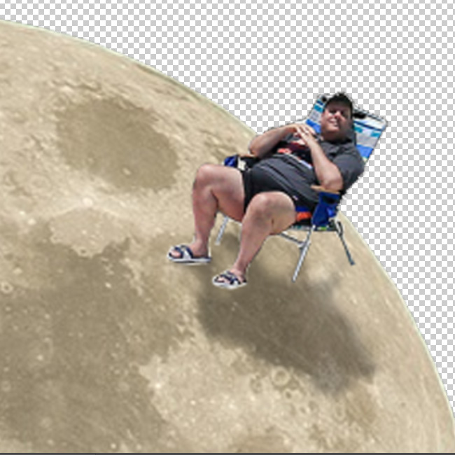 Chris Christie on The Moon