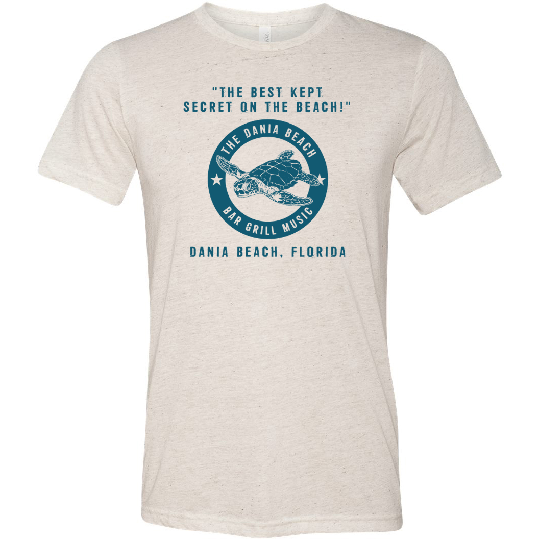 The Dania Beach Bar & Grill Sea Turtle Tee Shirt