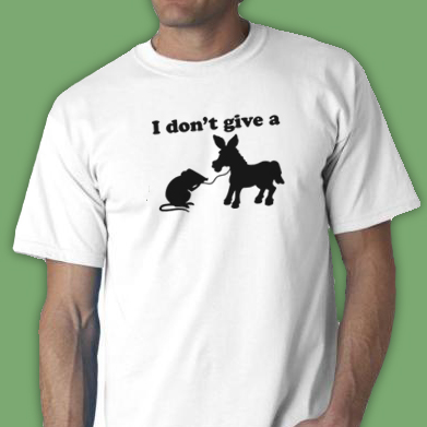 I Don'T Give A Rats Ass Shirt