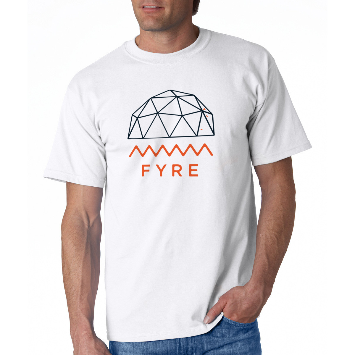 #FYRE FEST COMMEMORATIVE TEE SHIRT