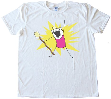 All The Things Rage Face Tee Shirt