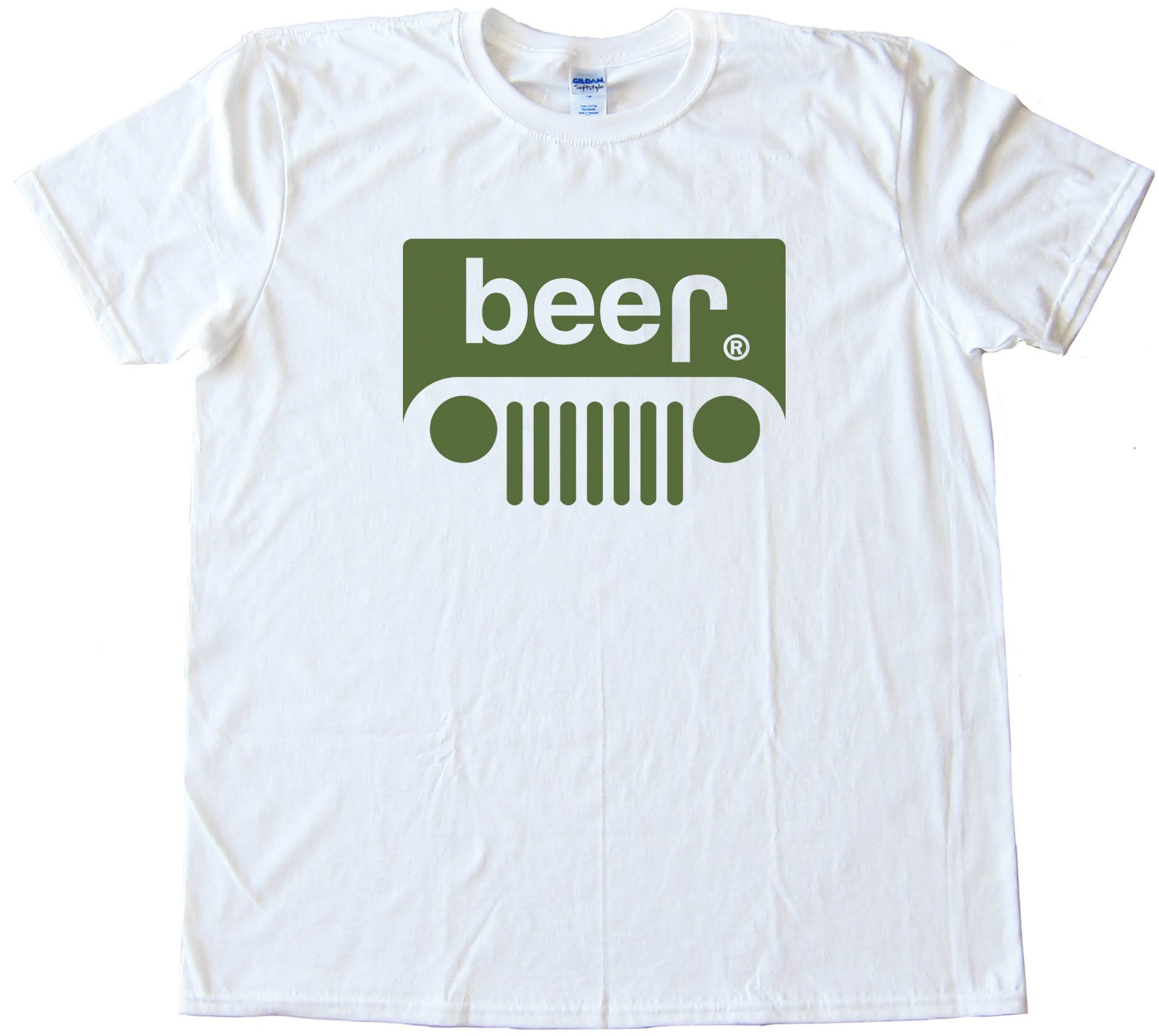 Beer Jeep Logo Tee Shirt