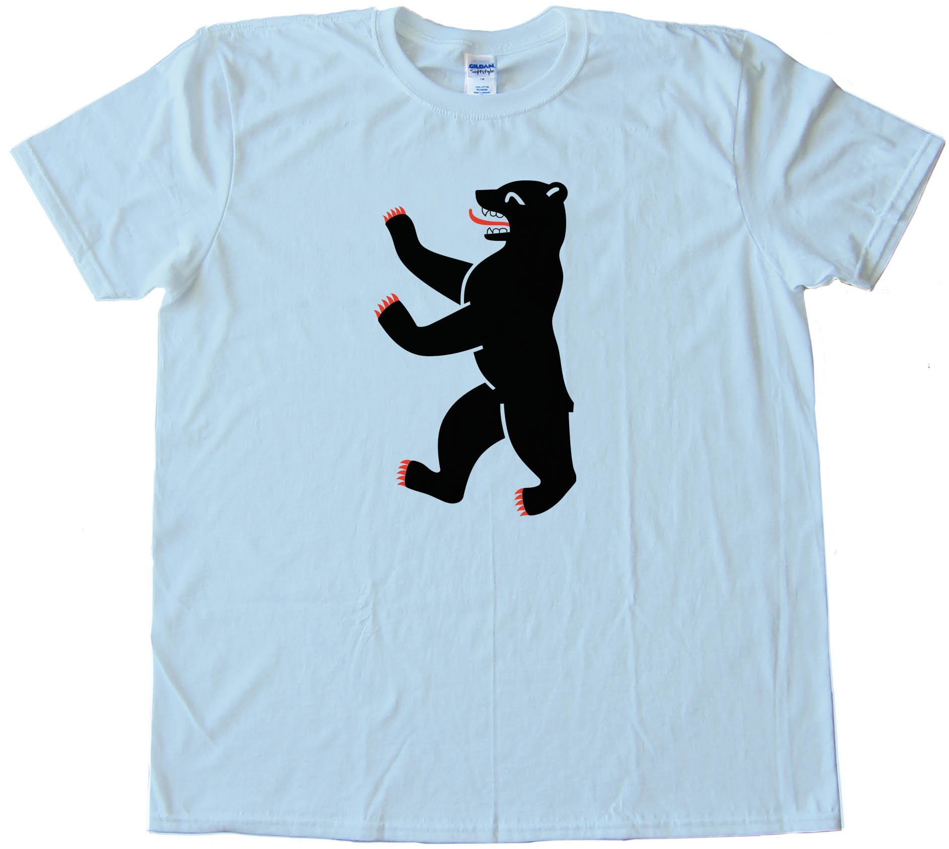 Berliner Bear Berlin Flag - Tee Shirt