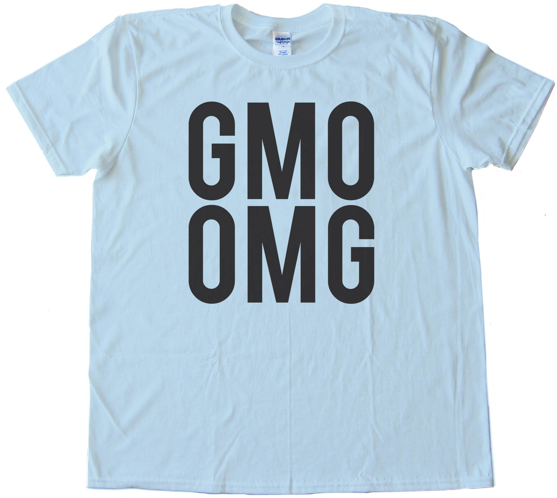 Big Text Gmo Omg - Tee Shirt
