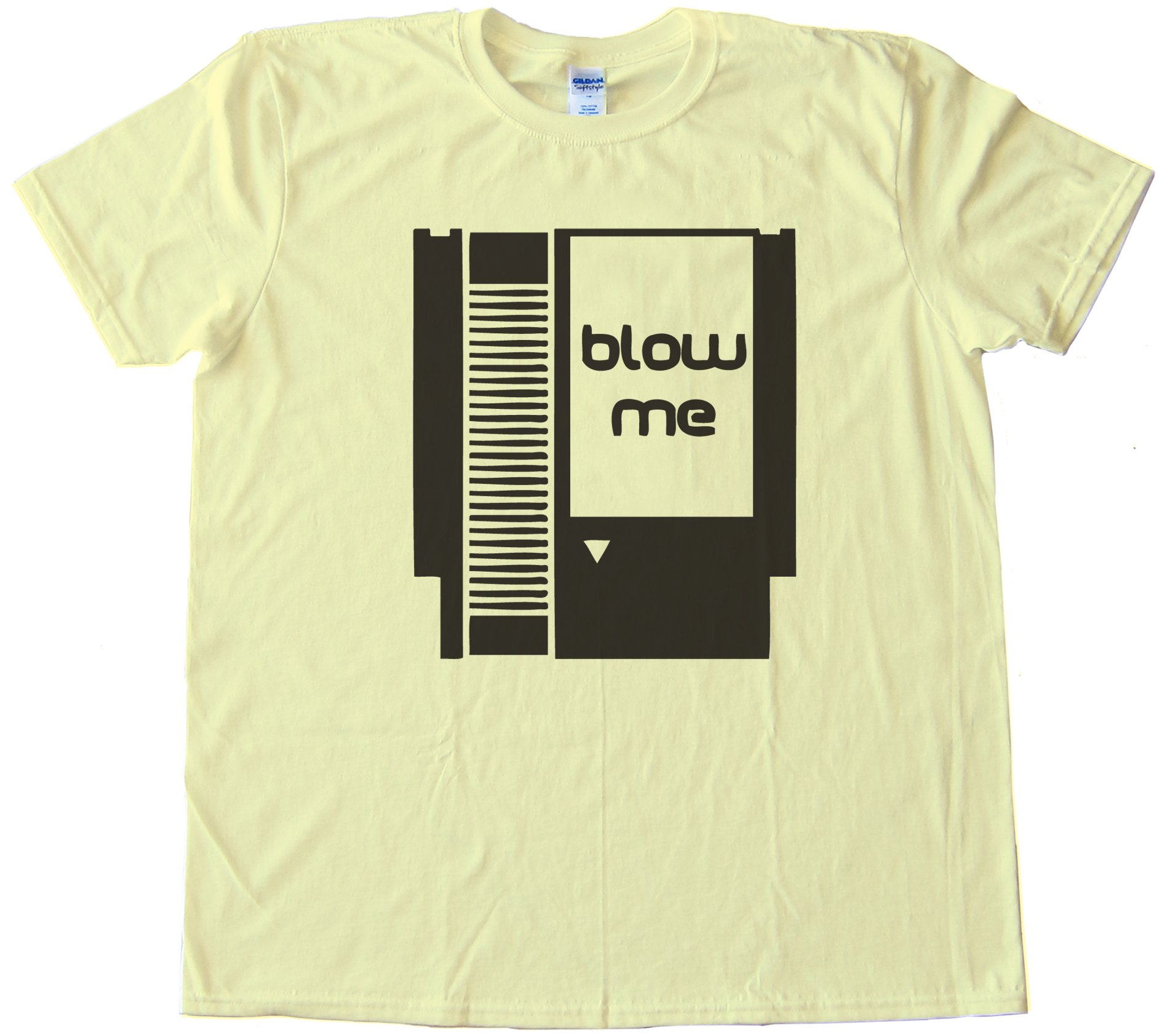 Blow Me - Nintendo Cartridge Tee Shirt