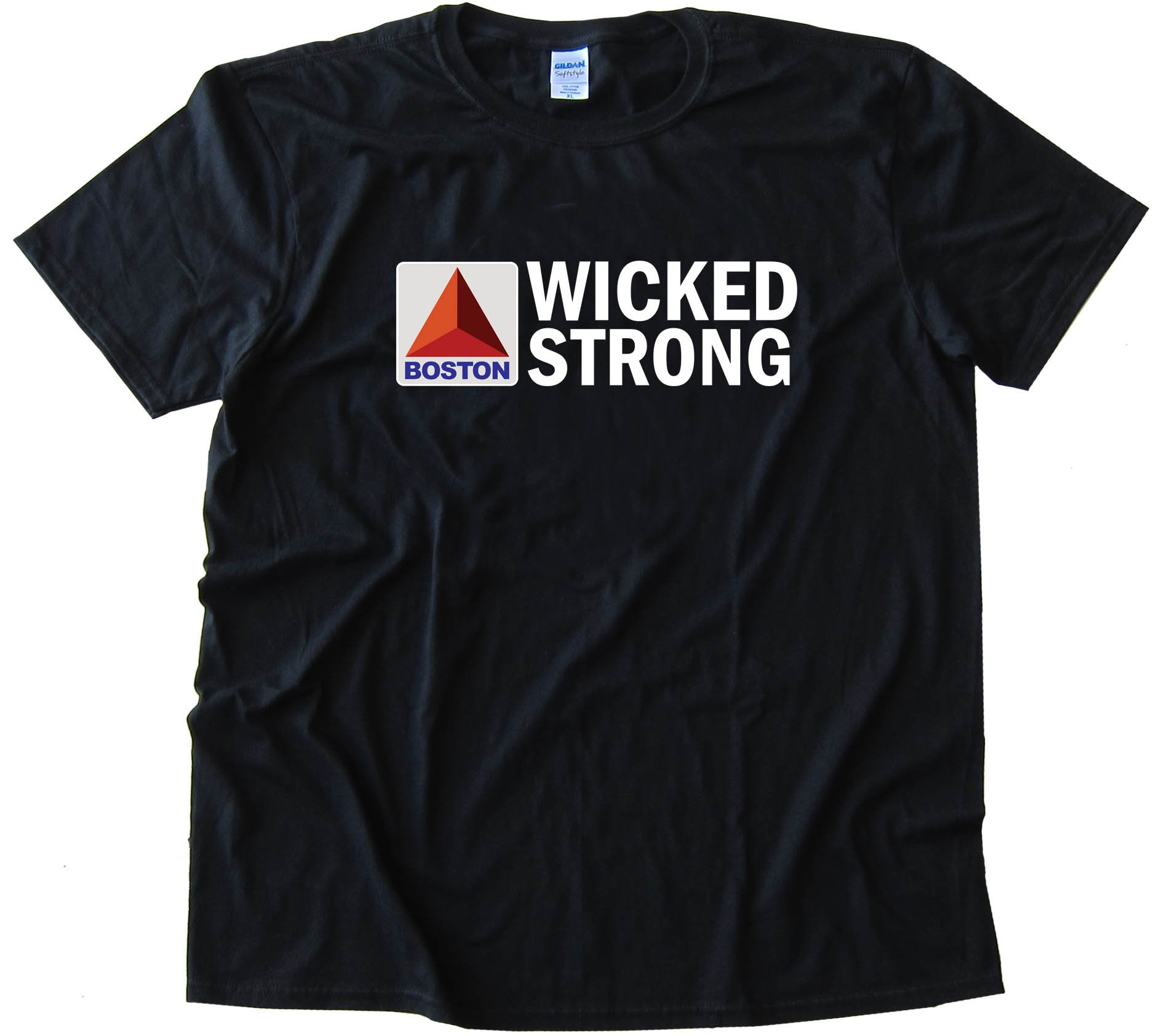 Boston Wicked Strong Citgo Sign - Tee Shirt
