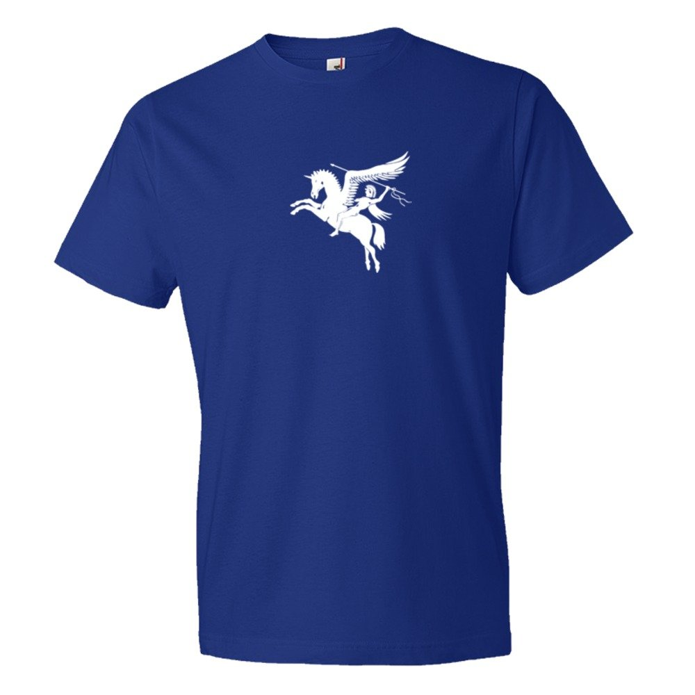 British Airforce Emblem With Pegasus Flying Horse - Tee Shirt