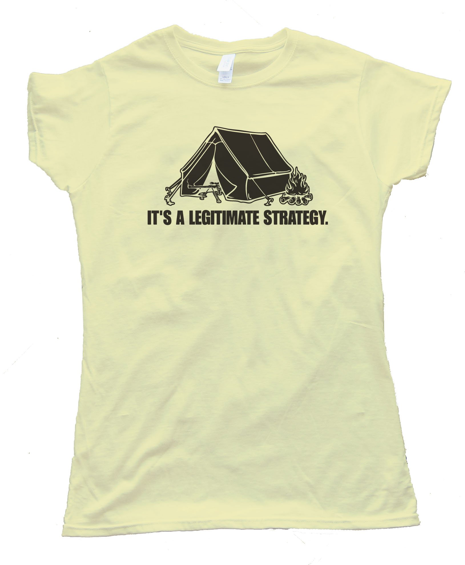 Camping Its A Legitimate Strategy Tee Shirt