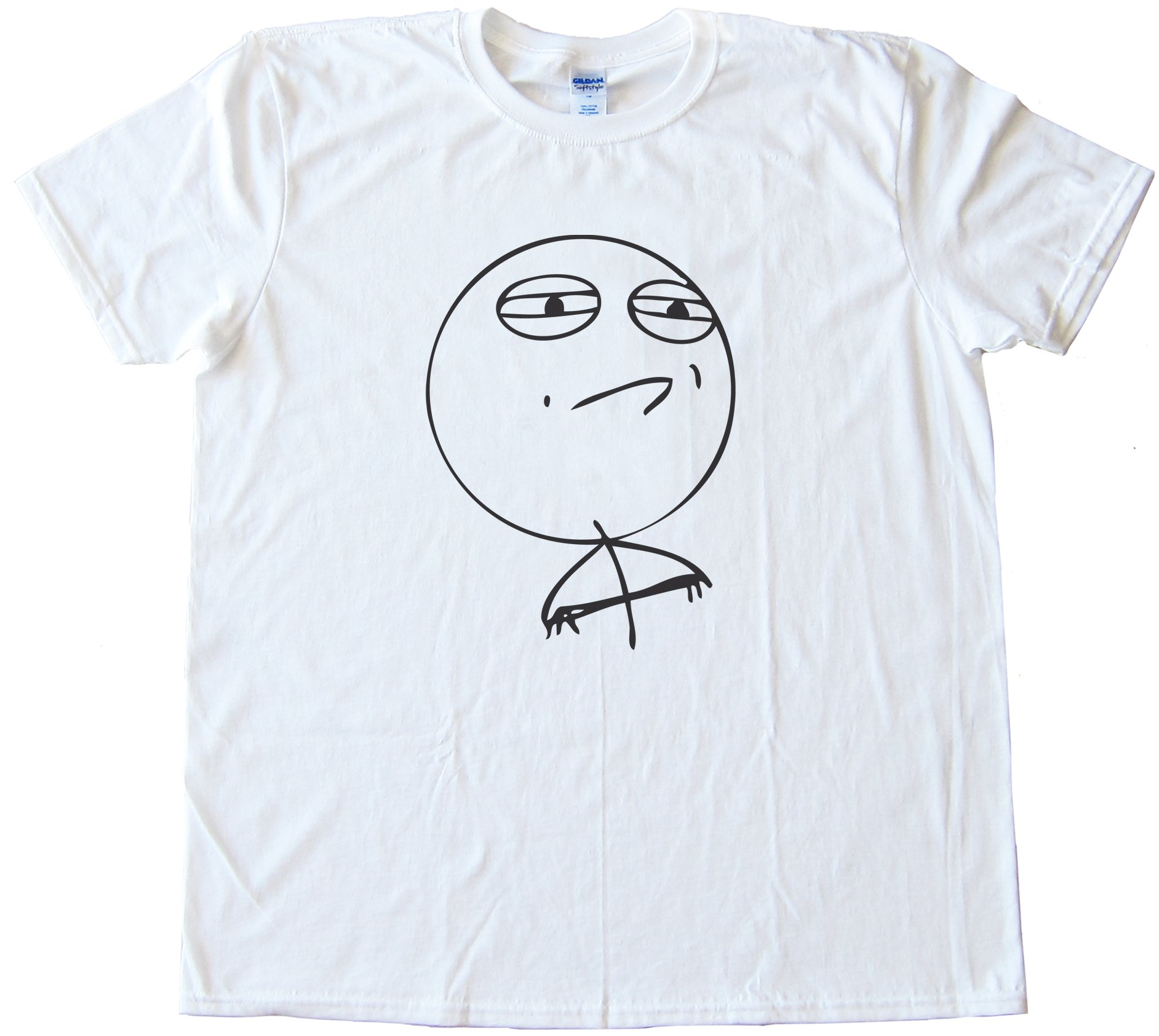 Challenge Accepted Rage Face Shirt Tee Shirt