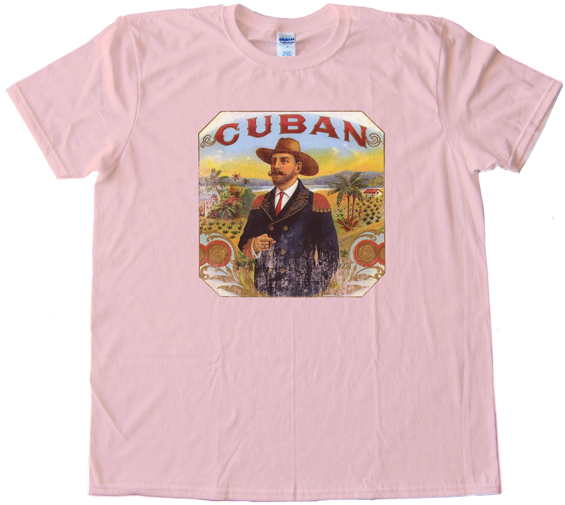 Cuban Cigar Smoker - Tee Shirt
