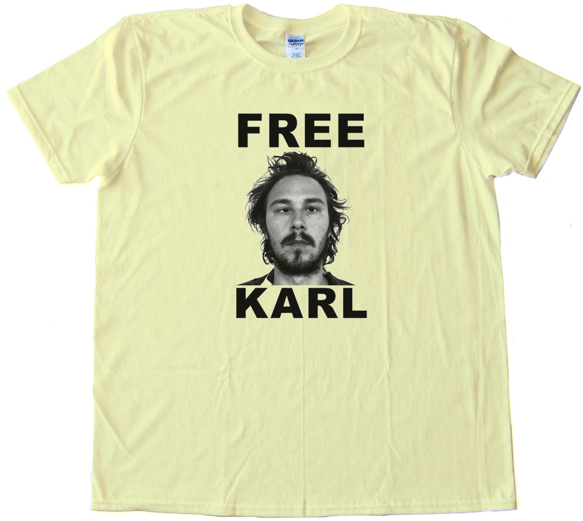Free Karl Workaholics - Tee Shirt