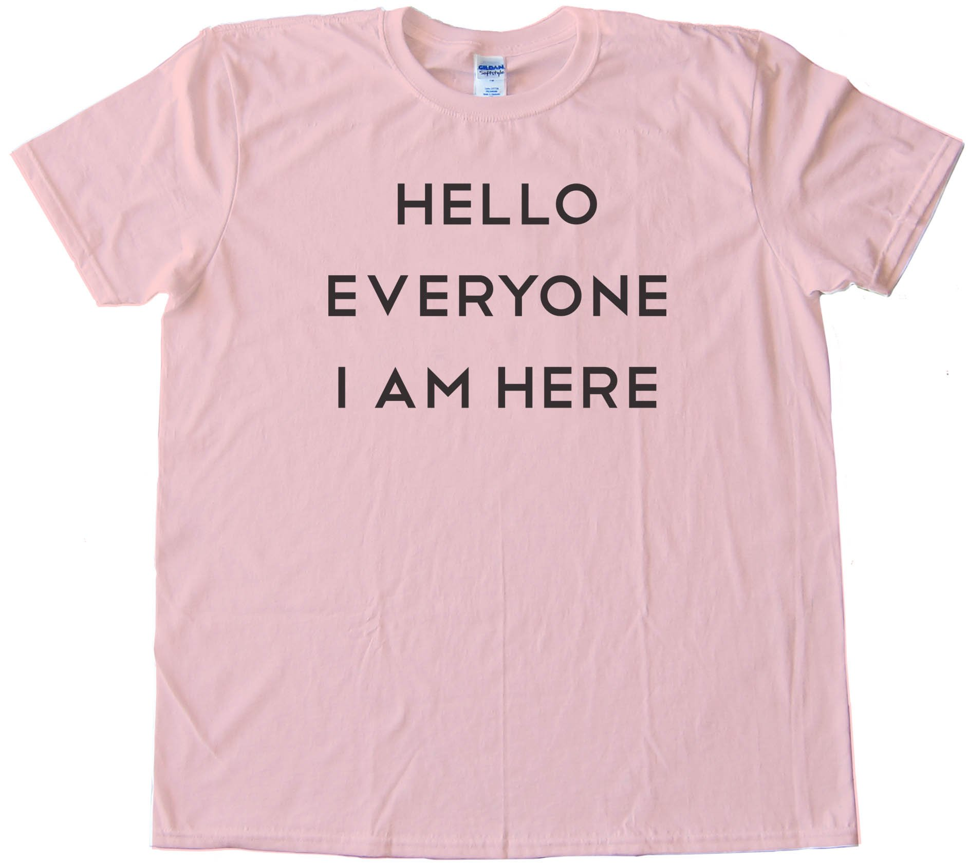 Hello Everyone I Am Here - Tee Shirt