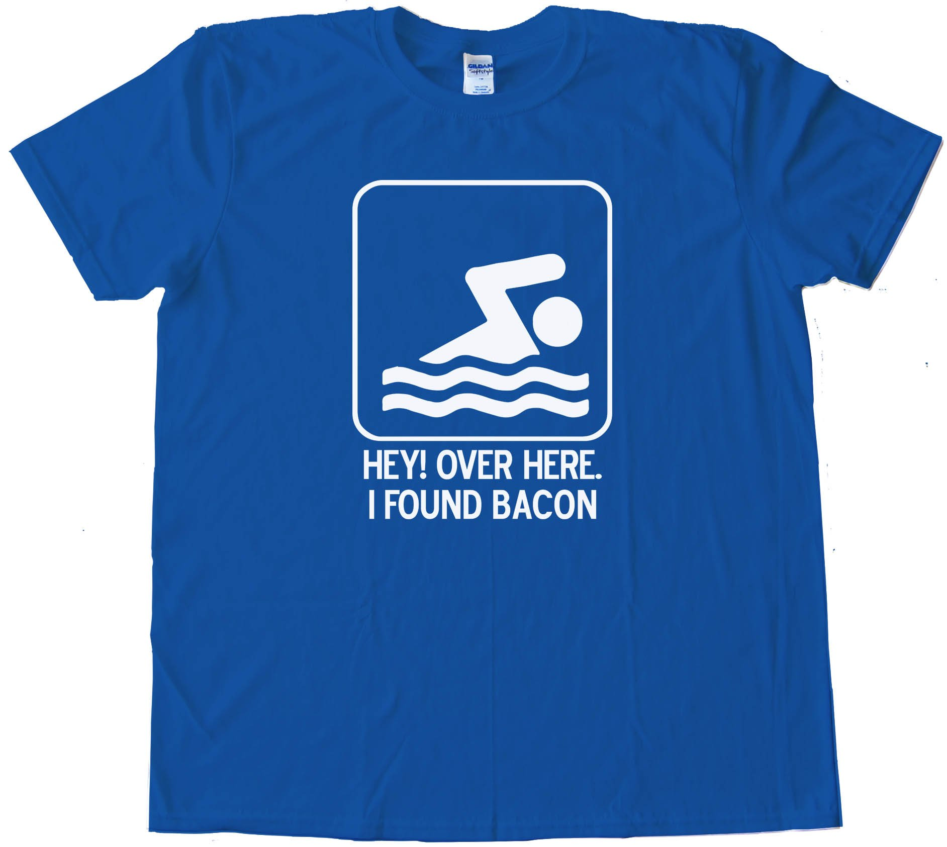 Hey Over Here - I Found Bacon - Tee Shirt