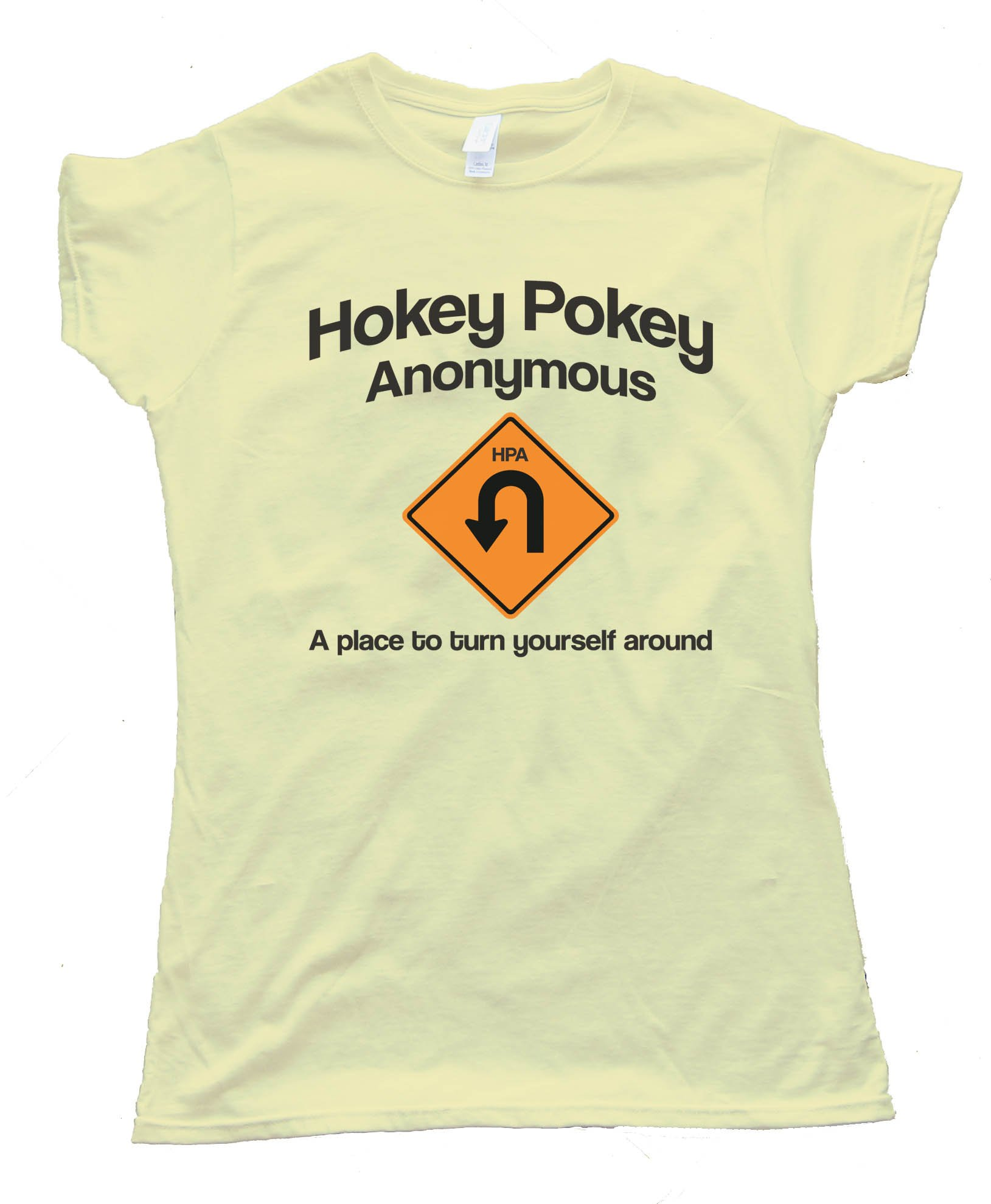 Hokey Pokey Anonymous - A Place To Turn Yourself Around - Tee Shirt