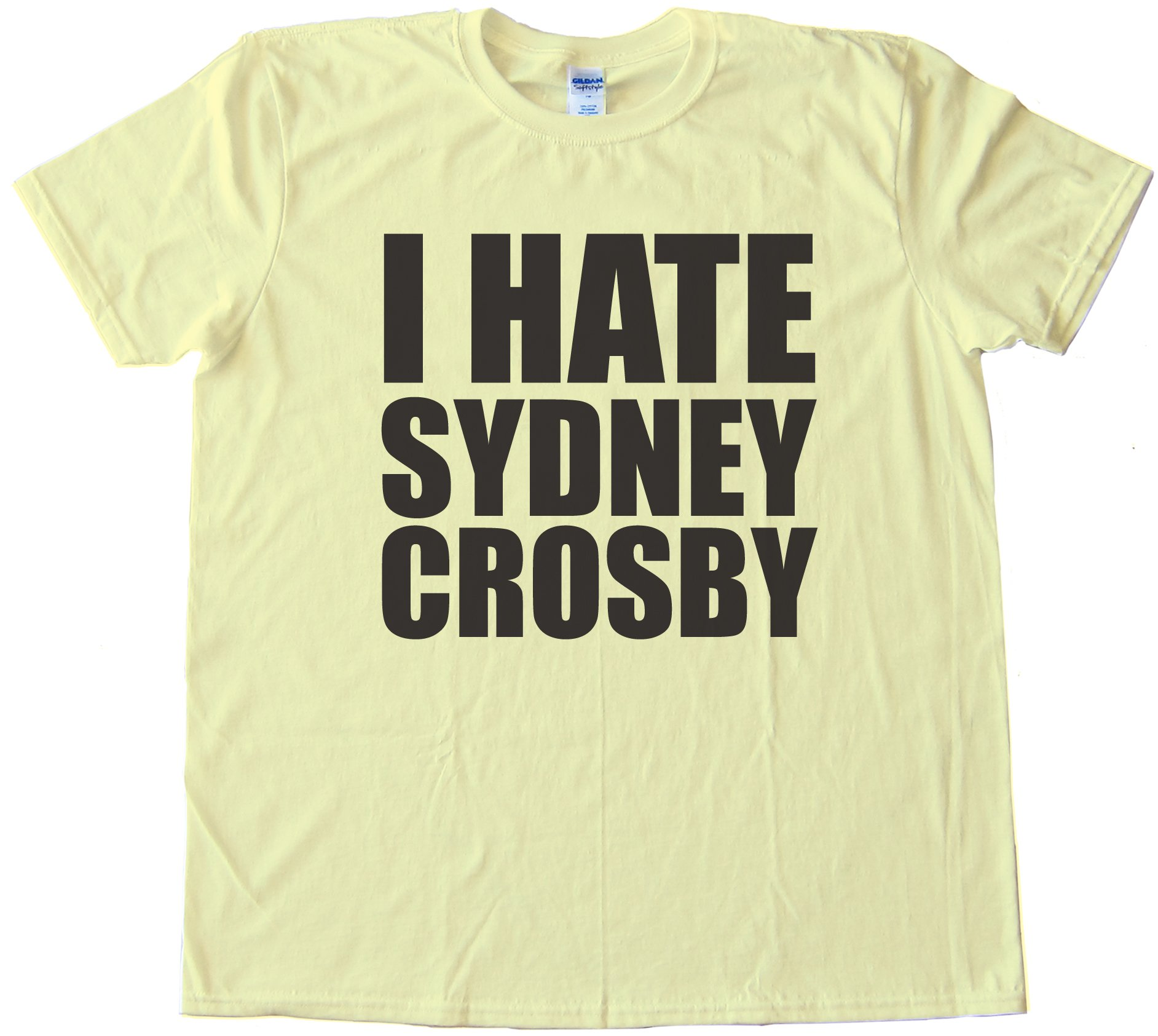 I Hate Sydney Crosby Tee Shirt