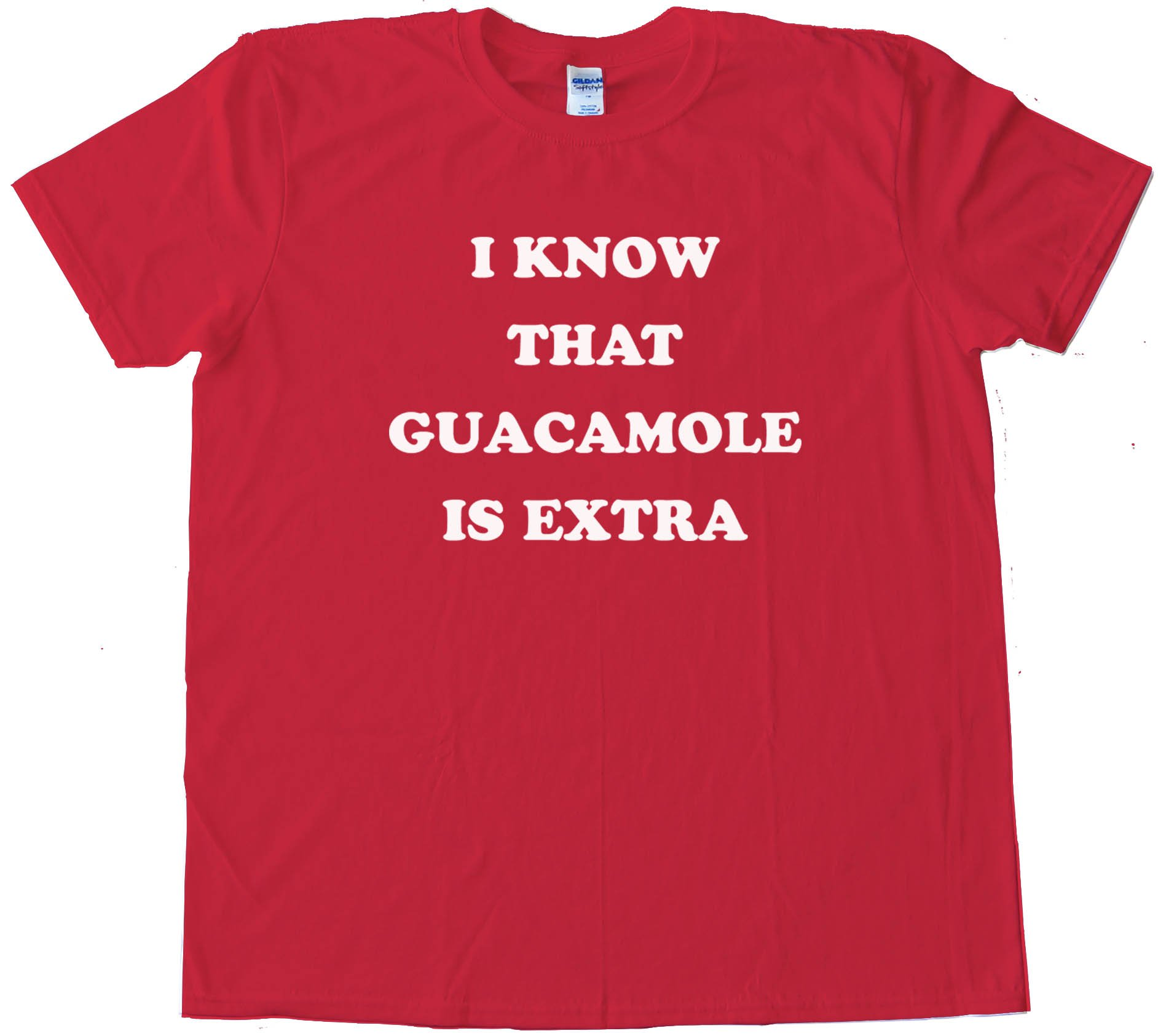 I Know That Guacamole Is Extra - Tee Shirt