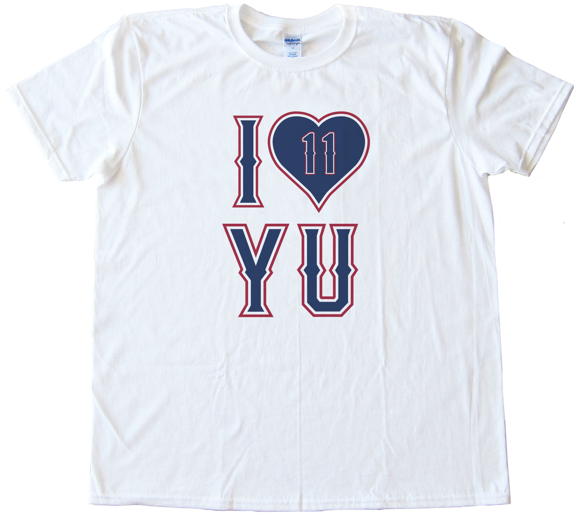 I Love Yu - Yu Darvish Texas Rangers Pitcher Tee Shirt
